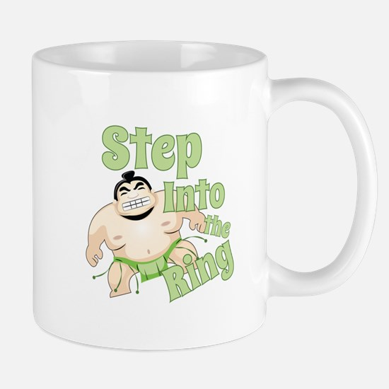 Step Into The Ring Mugs