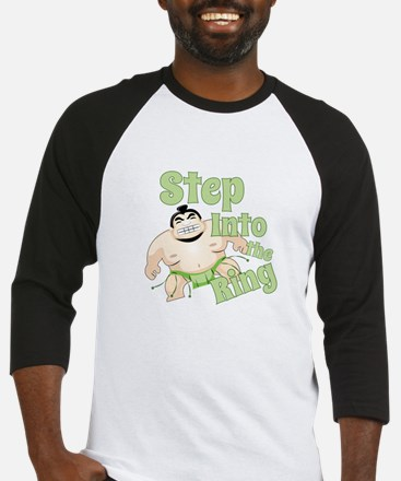 Step Into The Ring Baseball Jersey