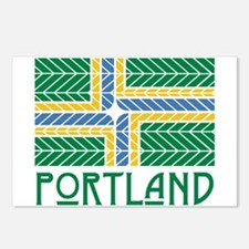 Chevron Portland Postcards (Package of 8)
