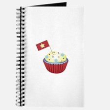 Patriotic Cupcake Journal