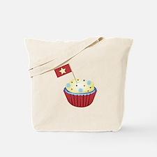Patriotic Cupcake Tote Bag