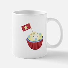 Patriotic Cupcake Mugs
