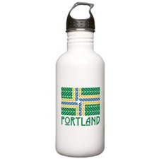 Chevron Portland Water Bottle
