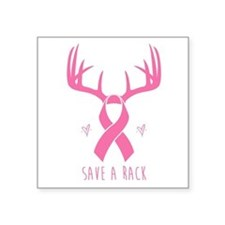 Save a Rack (Pink) Sticker