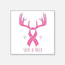 Save a Rack (Pink) Sticker