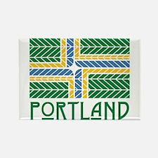 Chevron Portland Magnets