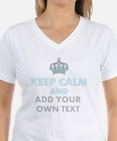 Keep Calm Add Text T-Shirt
