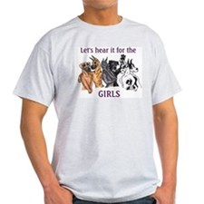 Let's Hear It For The Girls Ash Grey T-Shirt