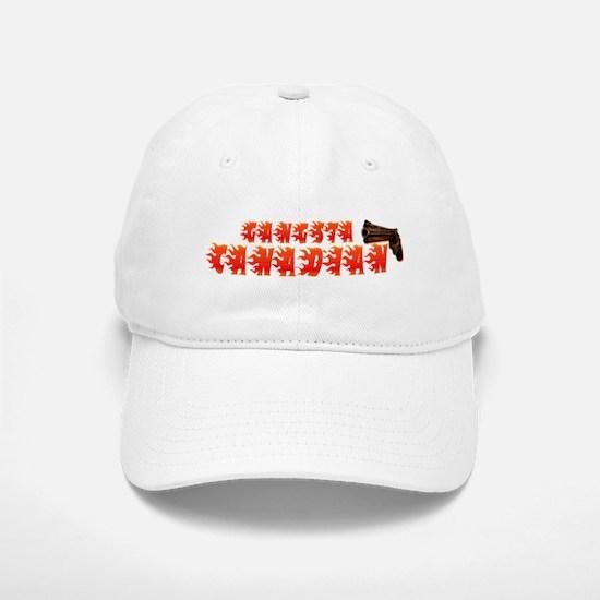 Canadian Gangsta Baseball Baseball Cap