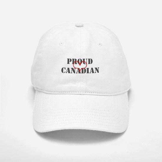 Proud Canadian Baseball Baseball Cap