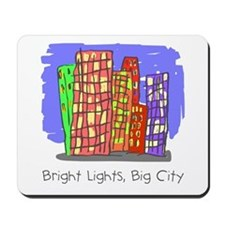 Kid Art City Mousepad