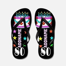 Fantastic 80th Flip Flops