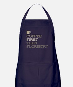 Coffee Then Floristry Apron (dark)