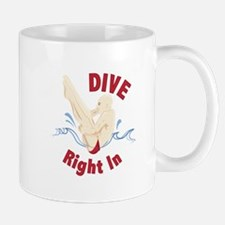 Dive Right In Mugs
