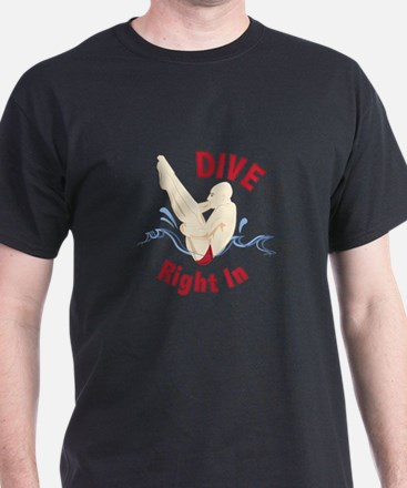 Dive Right In T-Shirt