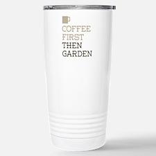 Coffee Then Garden Travel Mug