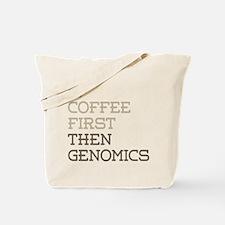 Coffee Then Genomics Tote Bag