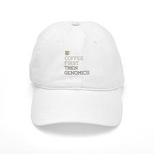 Coffee Then Genomics Baseball Cap
