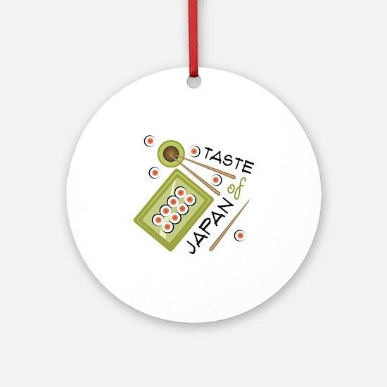 Taste Of Japan Ornament (Round)