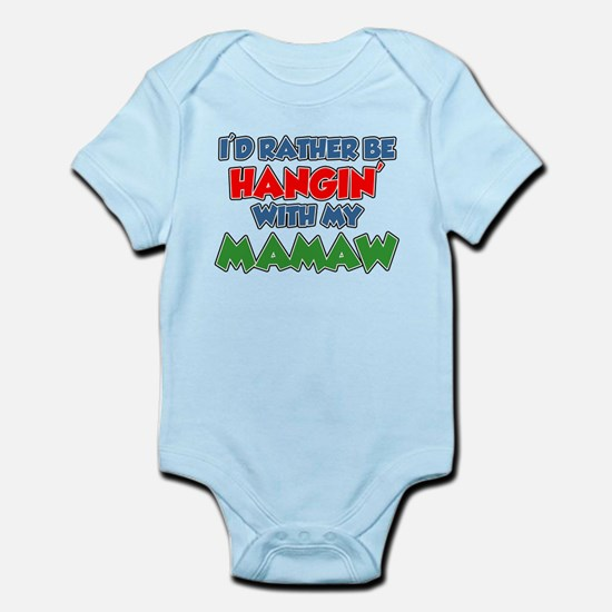 Rather Be With Mamaw Body Suit