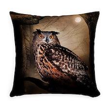 Halloween Owl Everyday Pillow