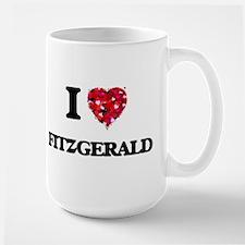 I Love Fitzgerald Mugs