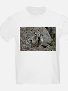 Squirrel Eating 4 T-Shirt