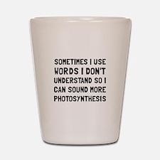 Photosynthesis Shot Glass