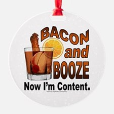 BACON and BOOZE Ornament