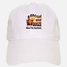 BACON and BOOZE Baseball Baseball Baseball Cap