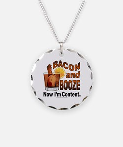 BACON and BOOZE Necklace