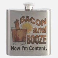BACON and BOOZE Flask
