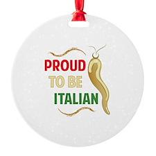 Proud Italian Ornament