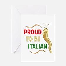 Proud Italian Greeting Cards