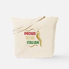 Proud Italian Tote Bag