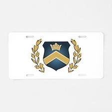 Royal Crest Aluminum License Plate