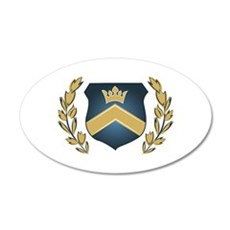Royal Crest Wall Decal