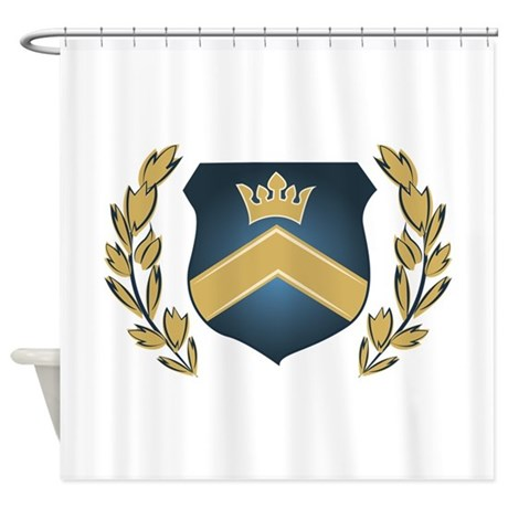 Royal Crest Shower Curtain By Windmill46