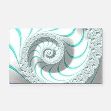 Beautiful Pastel Abstract Fra Rectangle Car Magnet