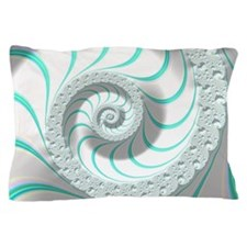 Beautiful Pastel Abstract Fractal Art Pillow Case