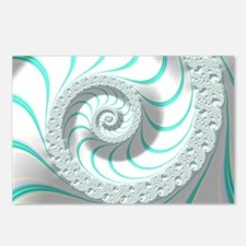Beautiful Pastel Abstract Postcards (Package of 8)