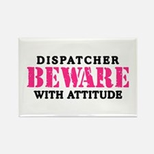 Dispatcher Attitude Rectangle Magnet