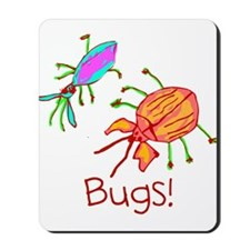 Kid Art Bugs Mousepad