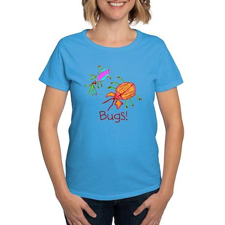 Kid Art Bugs Women's Dark T-Shirt