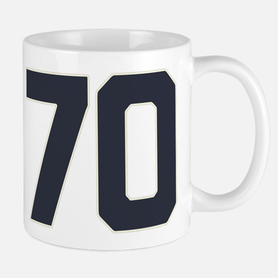 70 70th Birthday 70 Years Old Mug