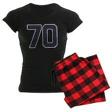 70 70th Birthday 70 Years Ol Pajamas