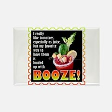 Tomatoes with Booze? Bloody Mary Magnets