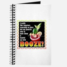 Tomatoes with Booze? Bloody Mary Journal