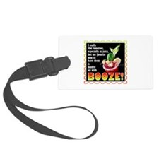 Tomatoes with Booze? Bloody Mary Luggage Tag