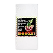Tomatoes with Booze? Bloody Mary Beach Towel